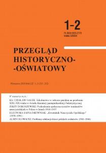 Przegląd Historyczno-Oświatowy nr 1-2 2016